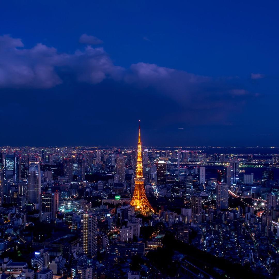 【六本木ヒルズ屋上】イベントに参加した時に撮影。東京タワーが見える...