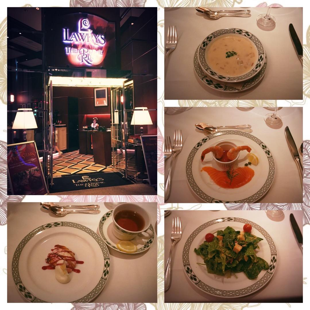 大阪でアメリカンなディナー!