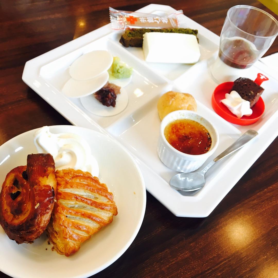 京都感満載のデザートでした! 京都宇治の老舗のお茶やさんである伊藤...