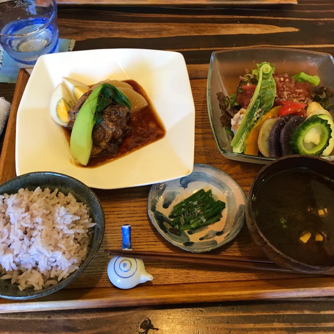 石垣島  白保 島の食材をたっぷり使った美味しい料理 #石垣島#白...