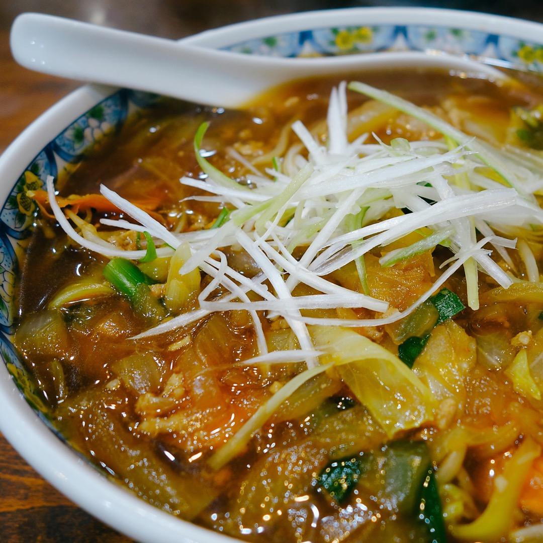 【元祖勝浦坦々麺の本家こだま】でいただきました。 ほほうこんな味な...
