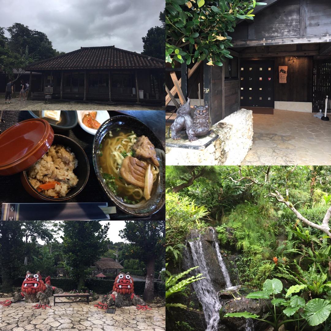 大家(うふやー)は古民家を用いたお店で、沖縄そばやソーキそば、アグ...