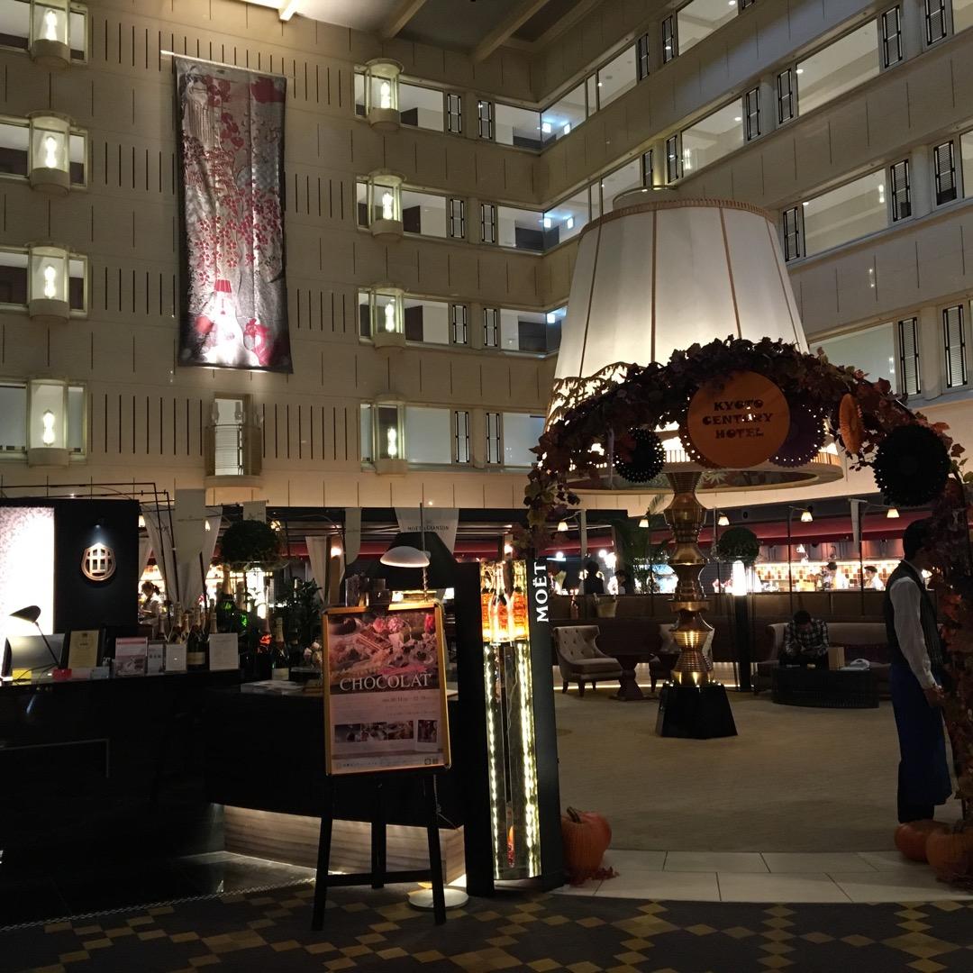 京都駅のすぐ隣にあるセンチュリーホテルのランチビュッフェに行ってき...