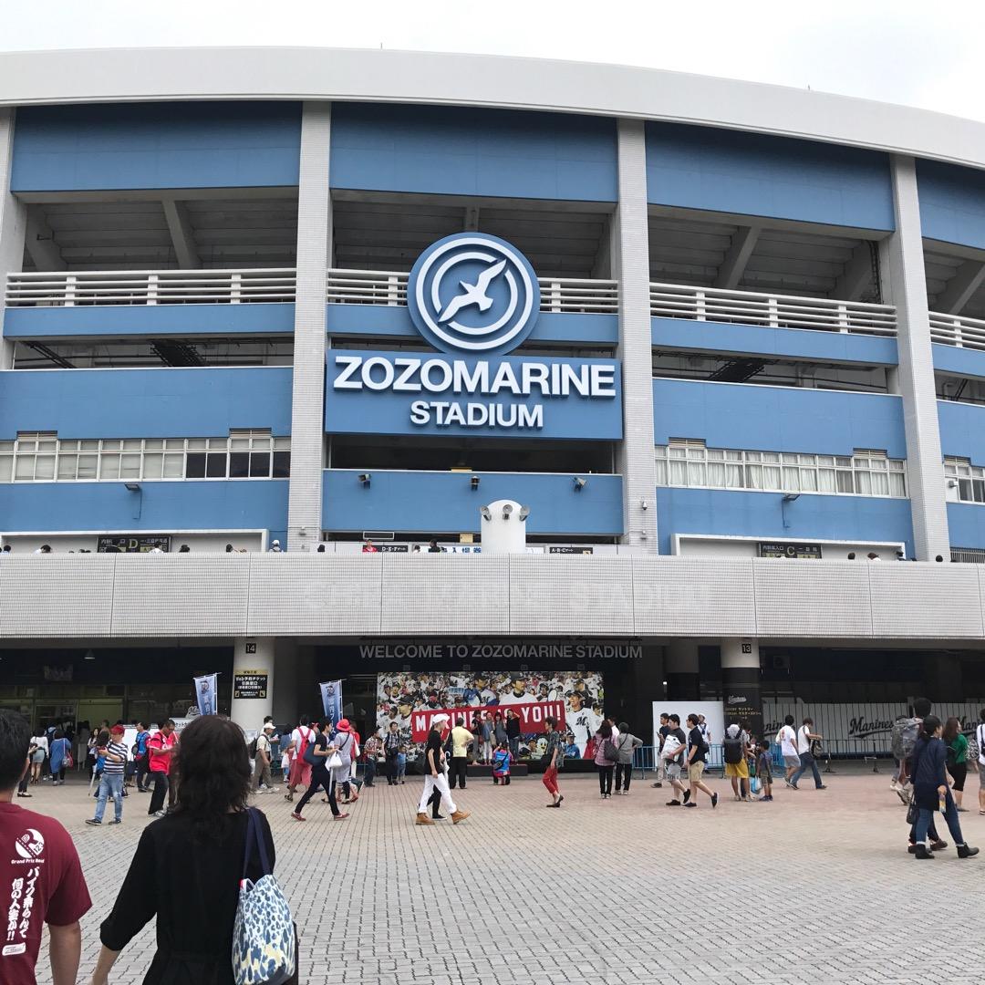 千葉県千葉市にあるZOZOマリンスタジアムです。千葉ロッテマリーン...