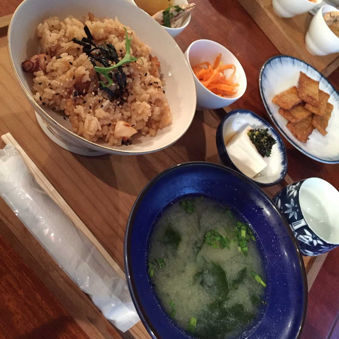#setoUchi  タコ飯定食◎ とーっても美味しいタコ飯でした...