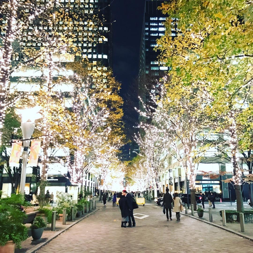 東京 大都会のクリスマスイルミネーション🎄テンションあがる〜♡#東...