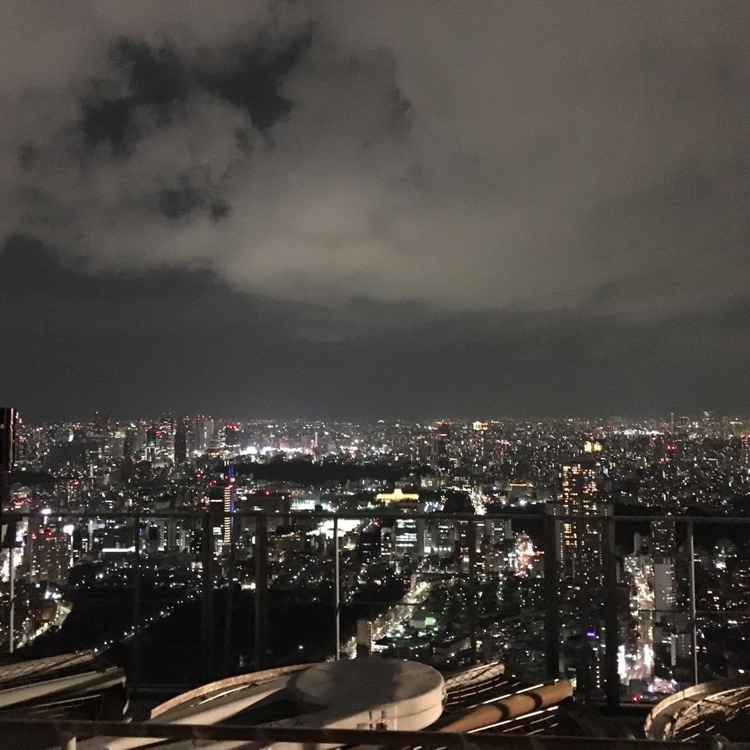 恋人とまた行きたい♡六本木から東京の夜景を見渡せる場所です。超ロマ...