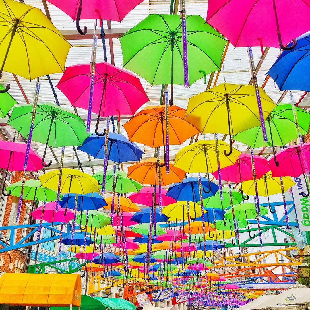 後から知ったんだけどこの中に幸せの傘があるみたい! みなさん、さが...