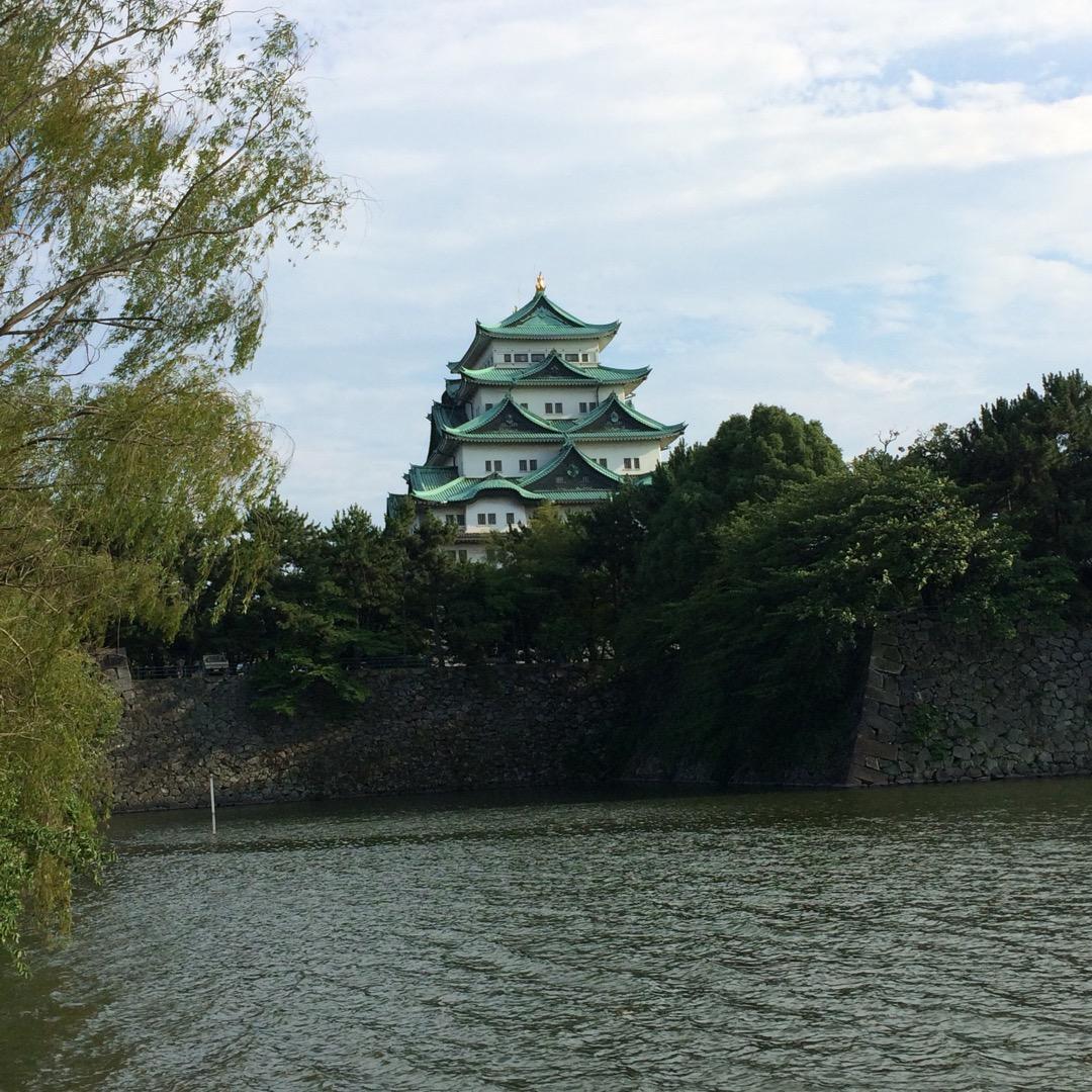 この遠目から眺める感じ好き。  #名古屋城