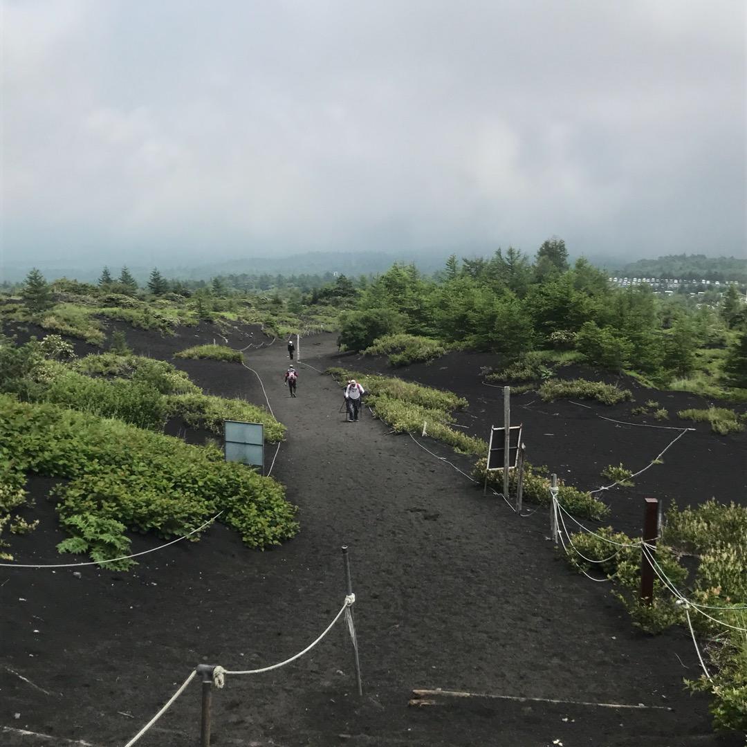 富士山5合目からの景色です。 今年の夏はあまり天気が良くなく、標高...