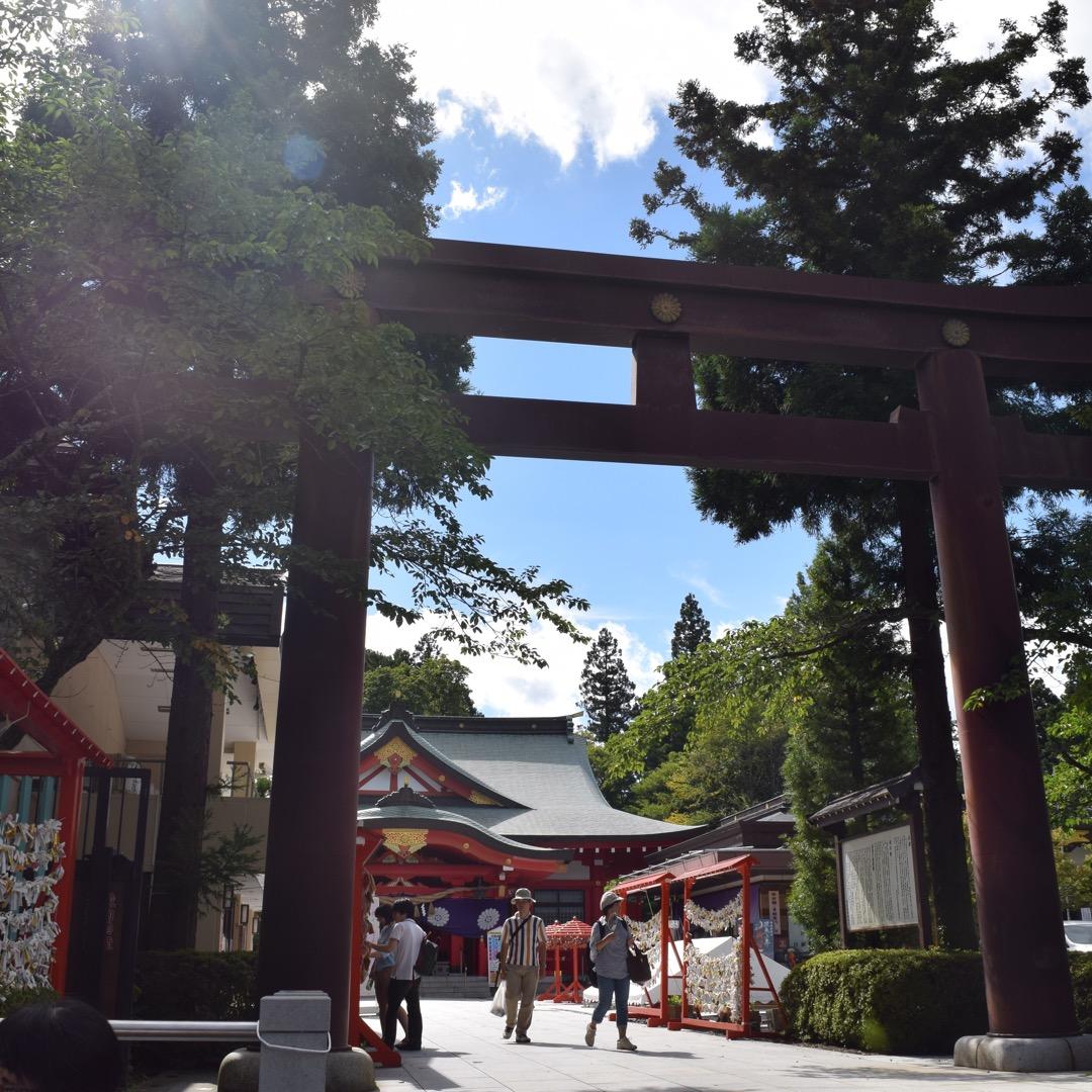 過去、多くの神社を回ってきましたが、ここの鳥居は恐らくベスト3に入...