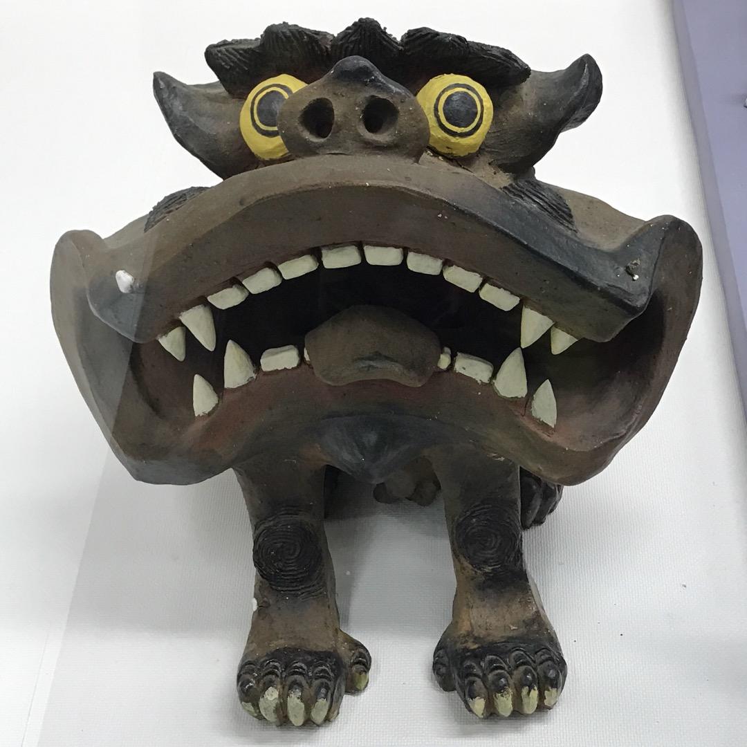 沖縄ワールドの中にある、シーサーを集めた博物館 いろんな国のシーサ...