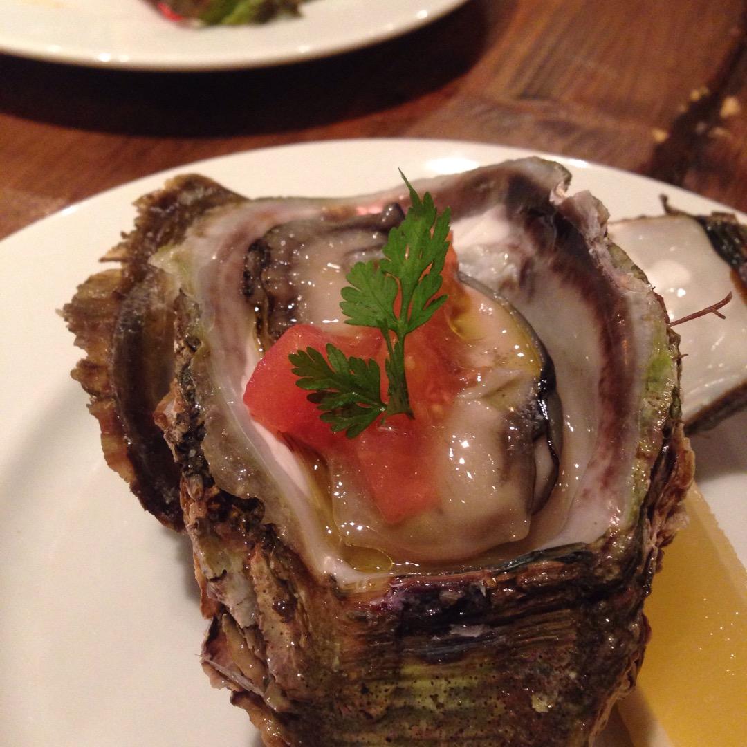 高円寺には 美味しい牡蠣がありました