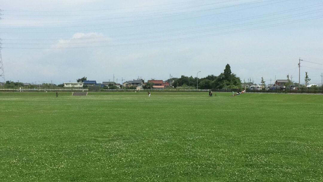 ここは #野球 や #サッカー するのにおすすめすぎる広場。