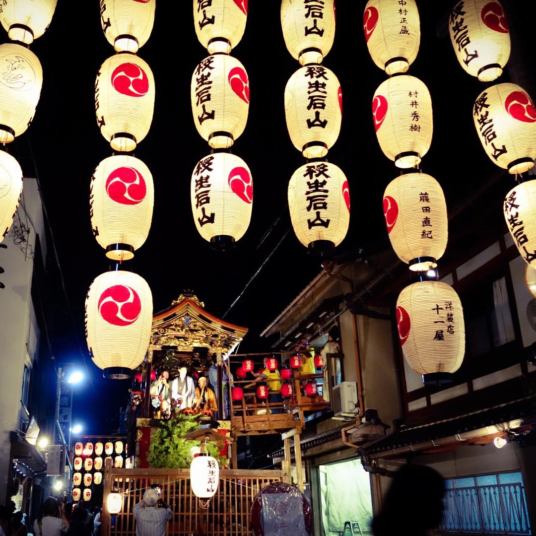 【大津祭宵宮】 京都の祇園祭と良く似たお祭りです。観光客でごった返...
