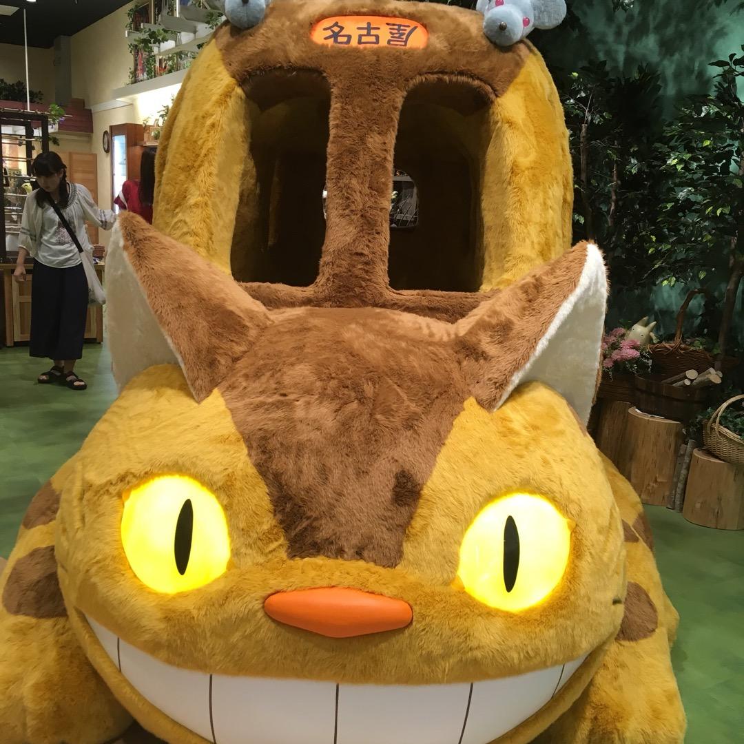 名古屋駅にネコバスがいたーーー!!  #ネコバス #トトロ