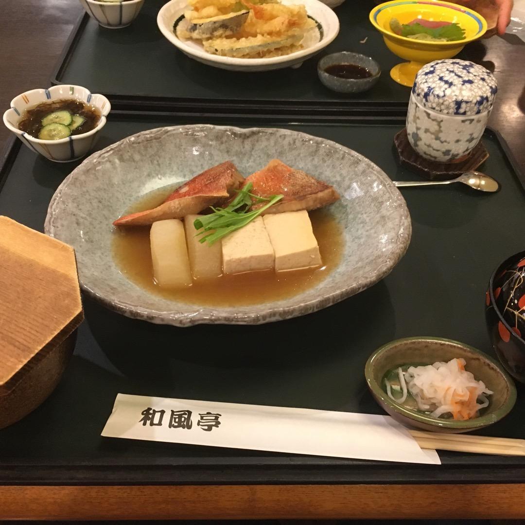 旅行先の沖縄で食べる和食(^.^)普通に美味しい〜💕 #和風亭 #...