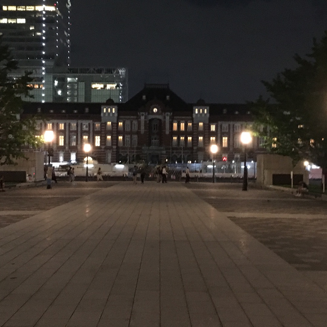 夜の東京駅です。 丸の内側ですが、夜の丸の内が個人的にはオススメで...