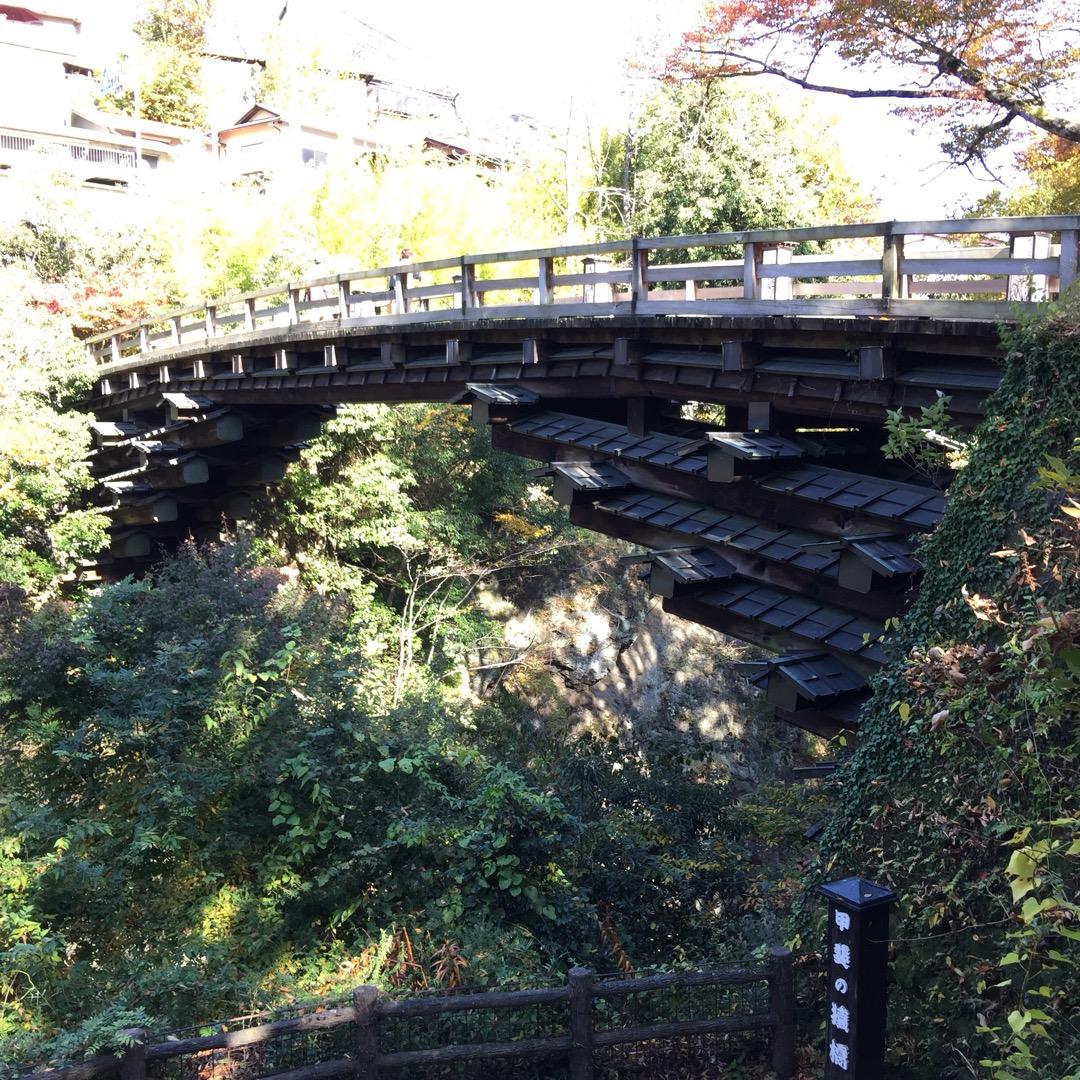 #日本三奇橋  #猿橋 天気がよいので写真を撮りに行ってみた。気候...