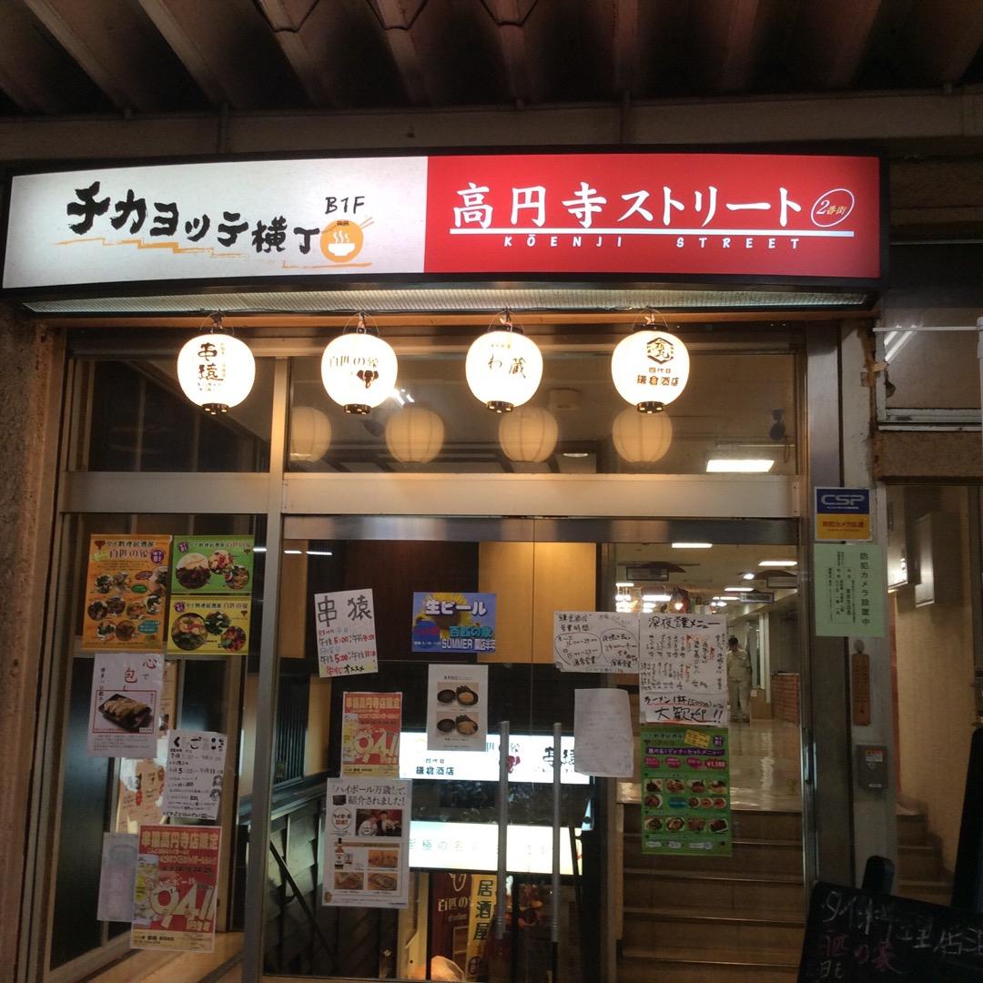 高円寺のガード下って、今も昔もそう雑然としているけど、最近は名前も...