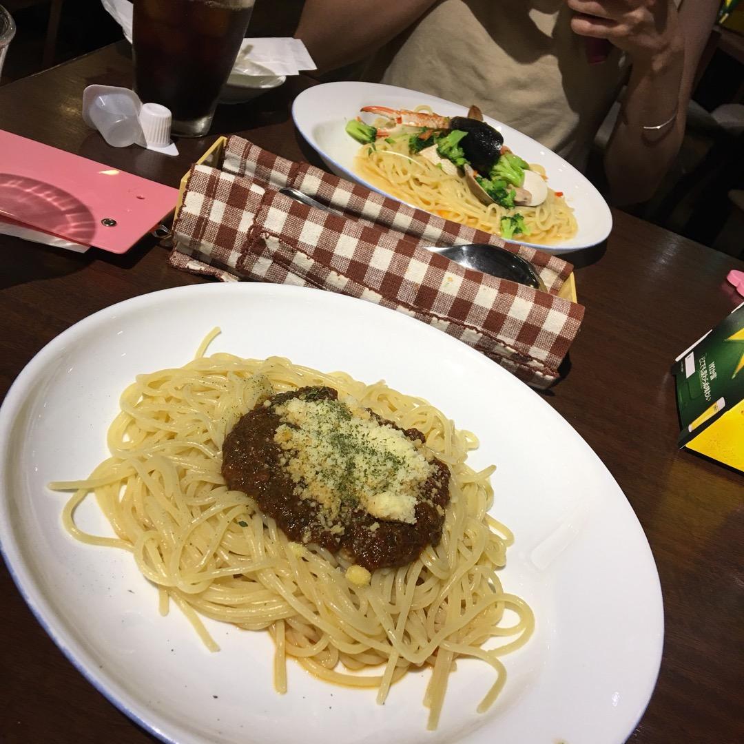 麺がもちもちしてて おいしかったですー(*∩ω∩*)♡  #スマイ...