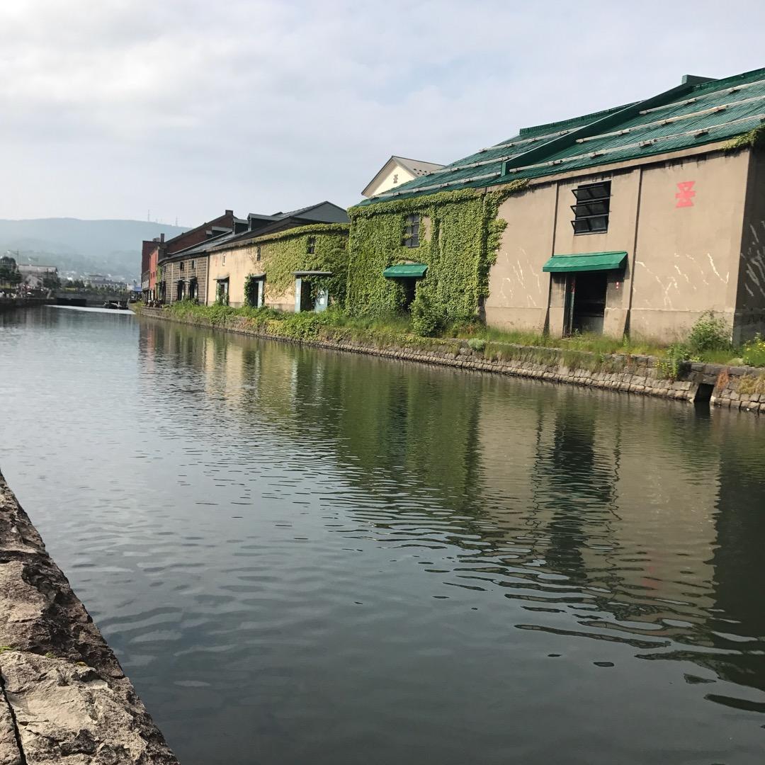 小樽の名物、運河☺️ 以前は臭いが気になったけど、今は綺麗に整備さ...