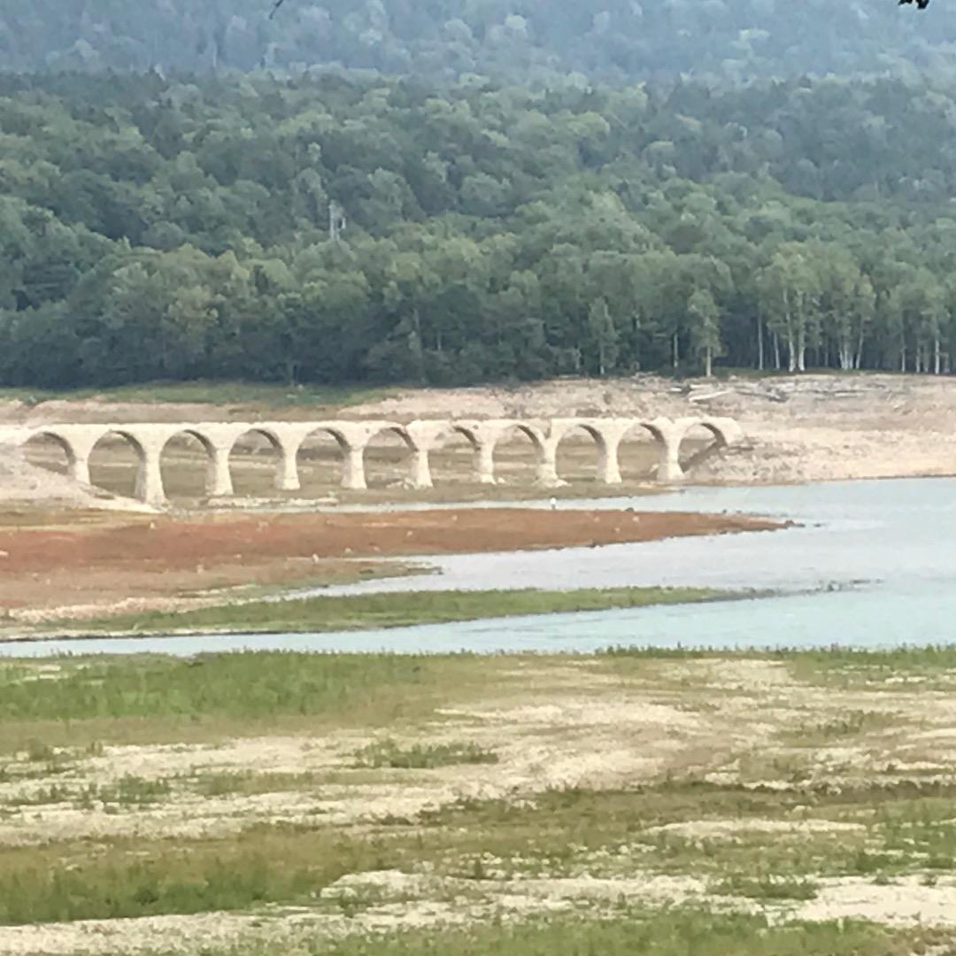 【北海道上士幌町】大雪山国立公園の麓でも自然がいっぱいタウシュベツ川橋梁