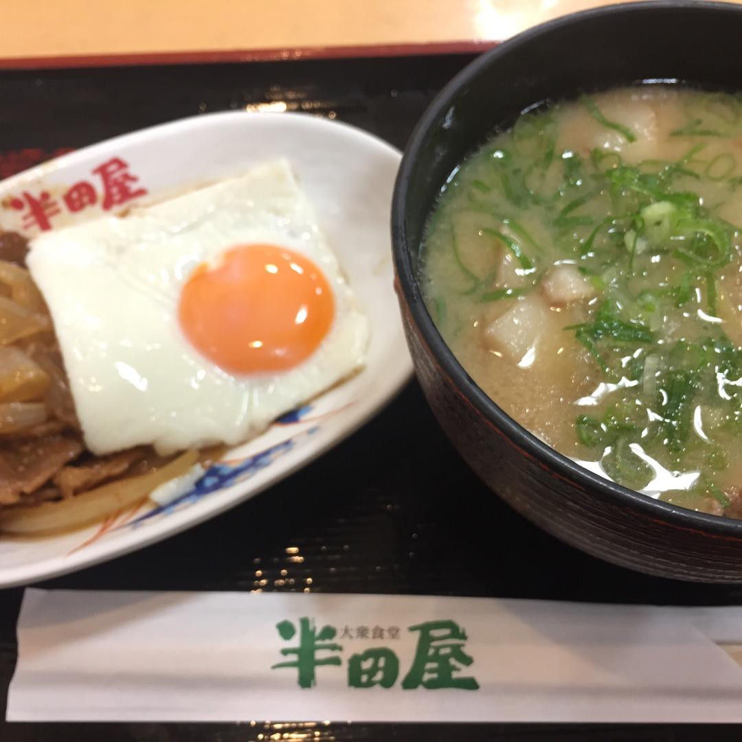 高速バスで朝早く仙台に着いたので、いつも通り半田屋さんで朝食を♪ ...