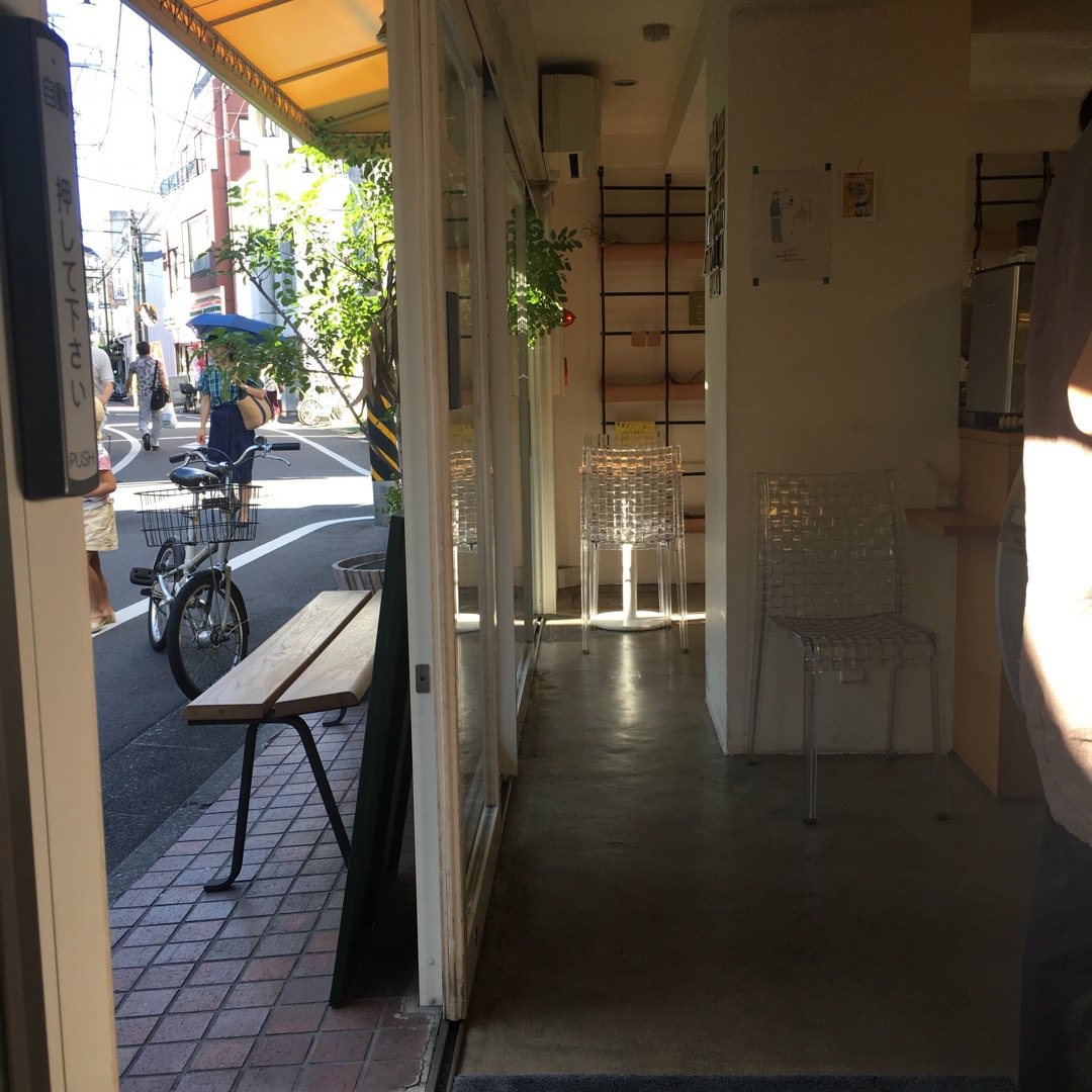 阿佐ヶ谷の商店街にあるシンチェリータというジェラート屋さん。旬のフ...