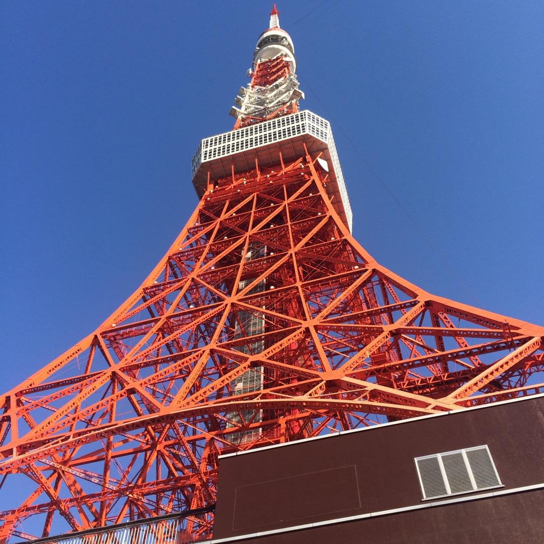 東京タワーはレトロ感もありますが、やはりちょっとワクワクします。駐...