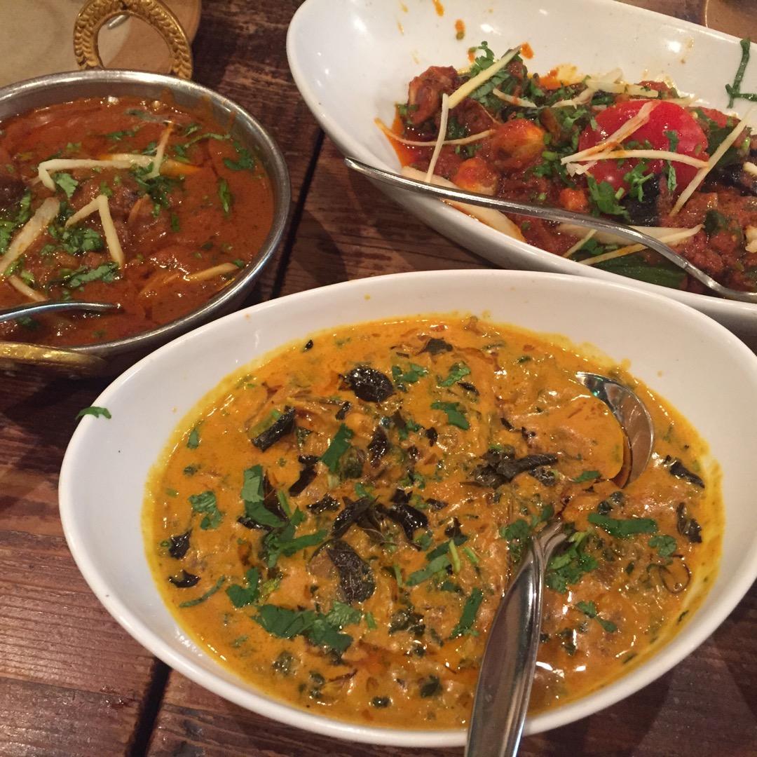 インド料理が楽しめるお店です🏡 辛めのメニューが多いので、辛いのが...