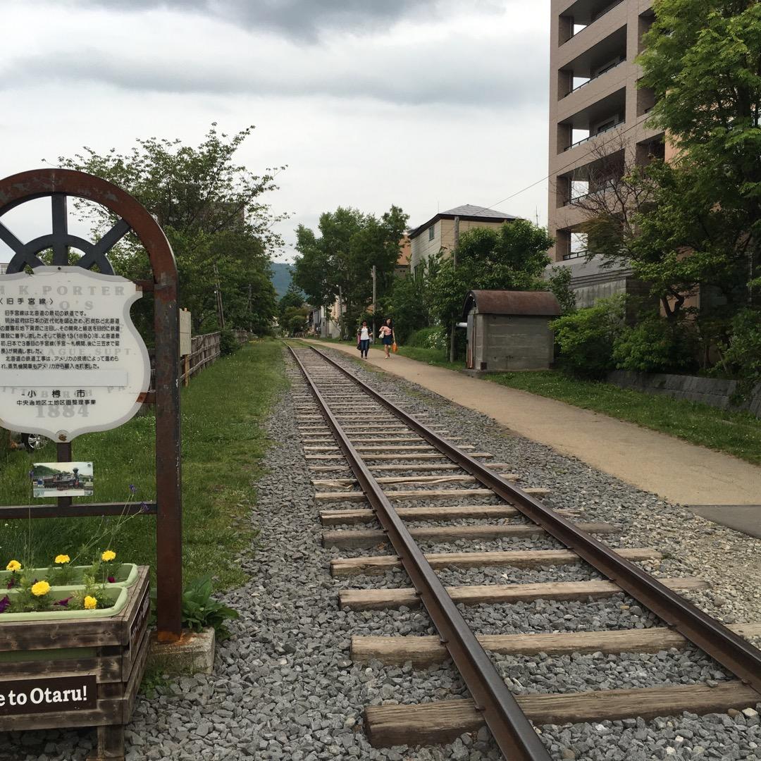 電車オタクにはたまらない今はなき手宮線!#小樽市 #手宮線