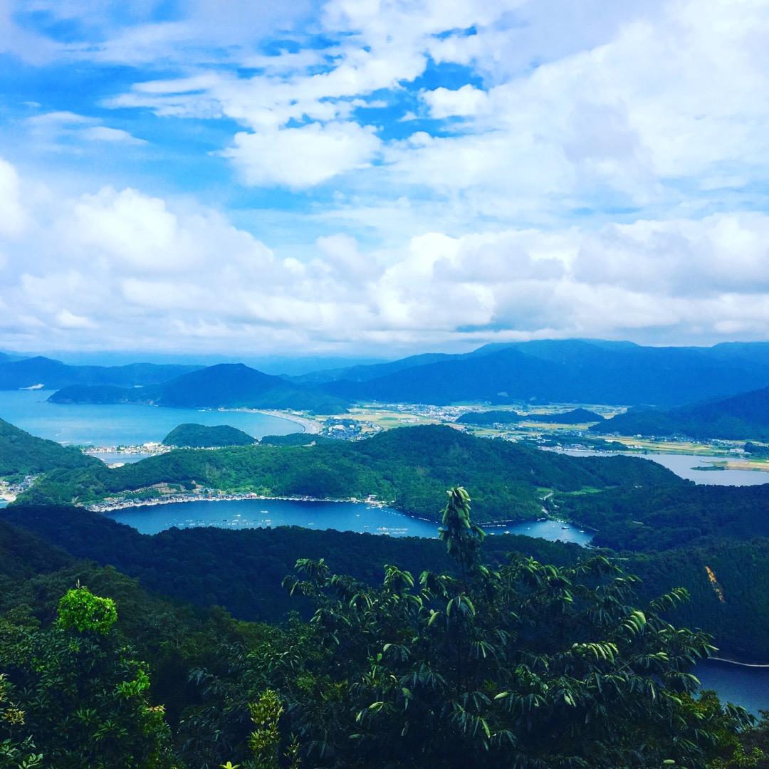 山頂公園からは5つの湖と日本海が望めます! 三方湖、水月湖、菅湖、...