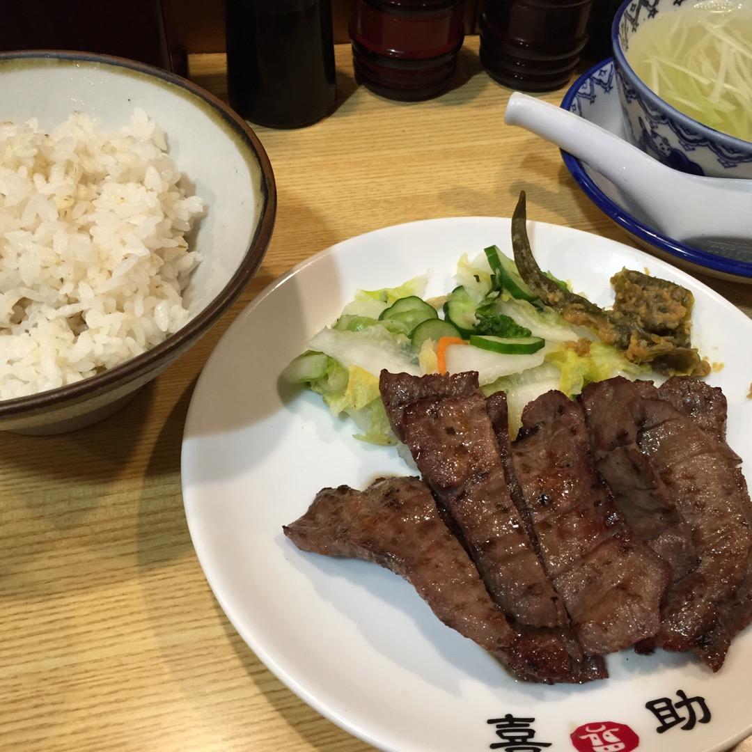 ★ 仙台では有名な牛タン専門店 喜助へ( ´ ▽ ` ) 分厚い牛...
