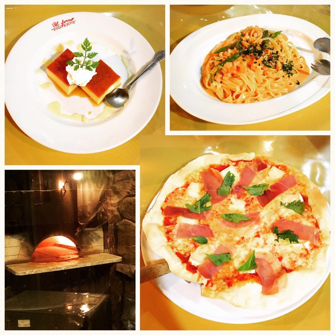 ピザにパスタにドルチェと、王道のイタリアンレストランです! ピザは...