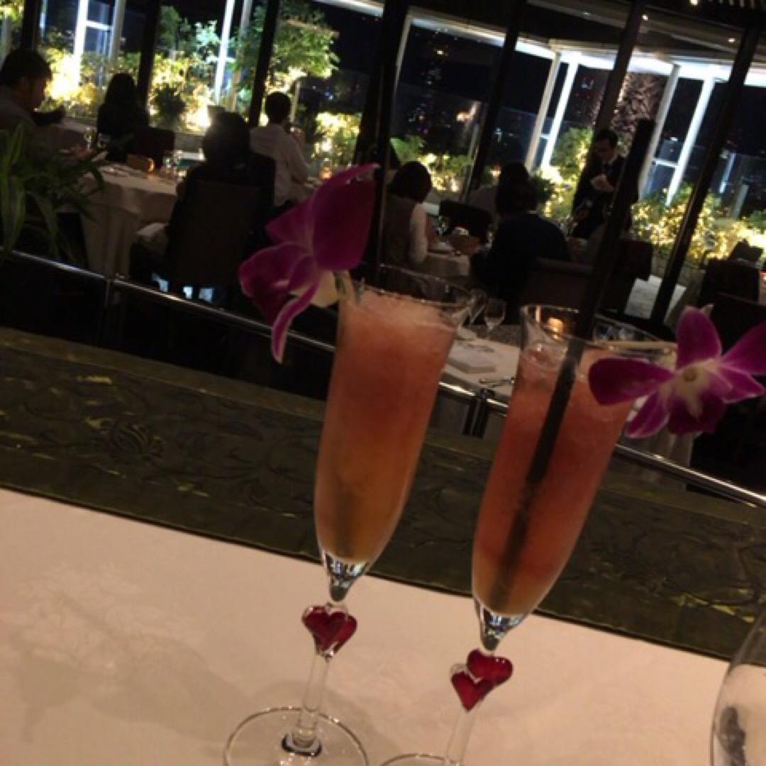 【ザ・レギャン・東京】 ちょっとしたお祝いの際に夫が予約してくれた...