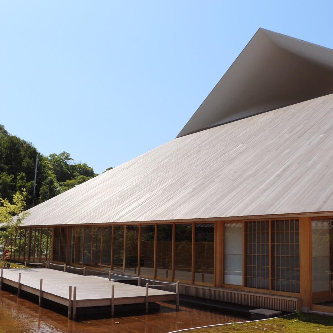 #直島町民会館  デザイナーさんが手がけた建物! デザインセンス抜...