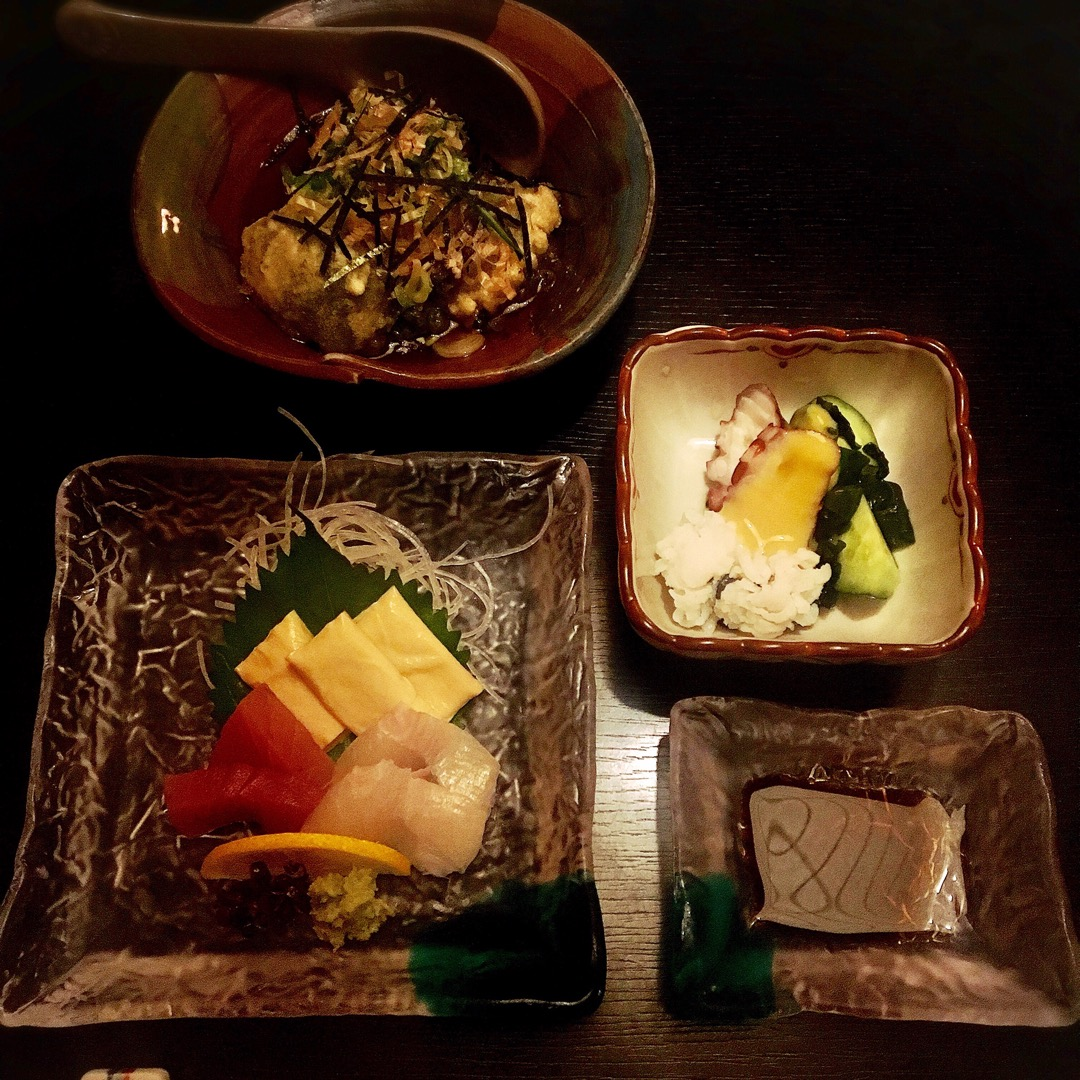 湯葉のお造りに、生麩の揚げ出しなど、京都感満載のお料理がたくさん出...