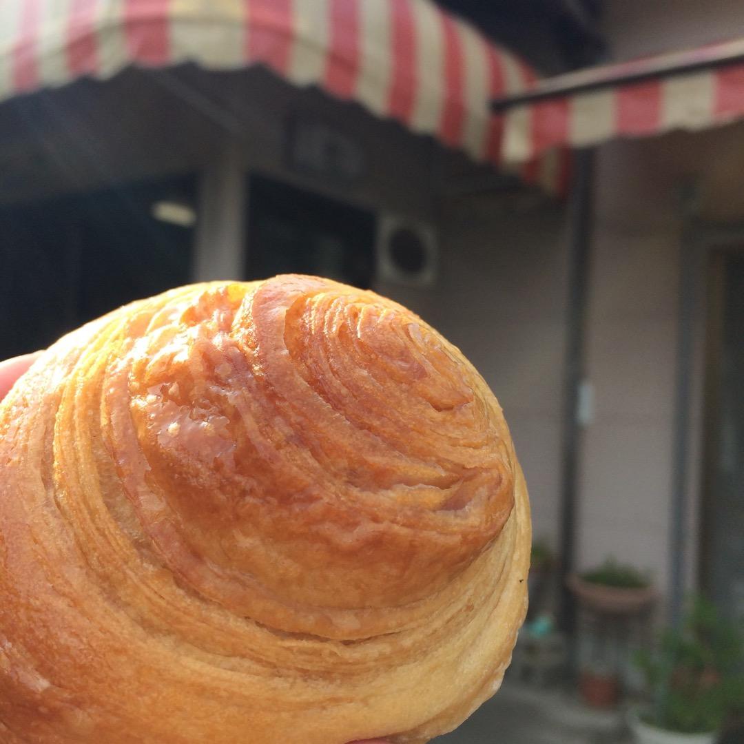 昔よく来た手づくりパンの店 #吉野家 ここのミニクロワッサンが大好...