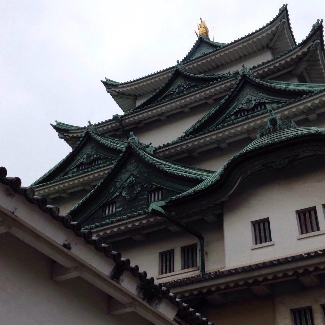名古屋城、本日忍者がどこかに隠れています! 織田信長には会えました!